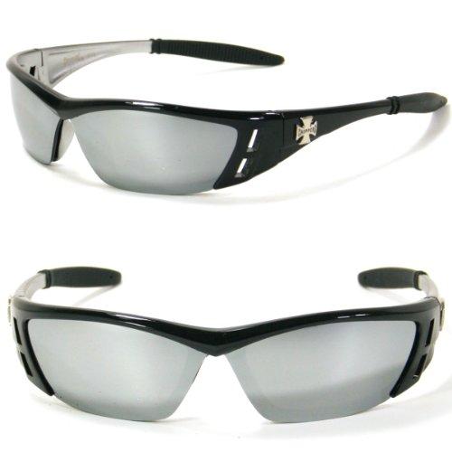 (Choppers Sports Sunglasses SA6554 (black silver))
