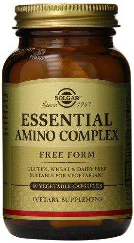 Solgar – Essential Amino Complex, 60 Vegetable Capsules (Amino 2222 Caps)