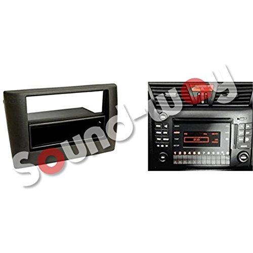 2 DIN /%2F adaptador de antena y llaves de extracci/ón 1 DIN Silim-Frontal de radio de coche para FIAT STILO