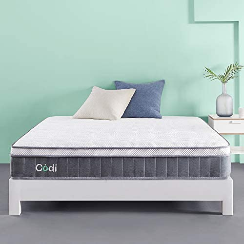 Codi Supreme Medium Firm 10 Inch Memory Foam Hybrid Mattress King Size