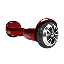 SWAGTRON T1 - UL 2272 Certified Hoverboard - Electric Self-Balancing Scooter Garnet Red