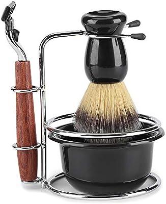 Maquinillas de afeitar bicaquu y soportes para brochas - Kit de ...