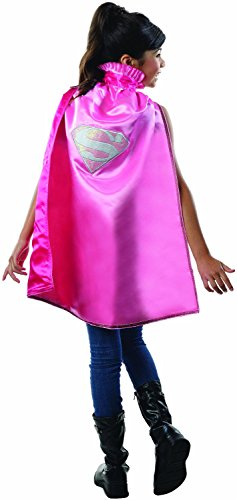 Rubie's Costume DC Superheroes Supergirl Deluxe Child Cape (Halloween Costumes Low Prices)