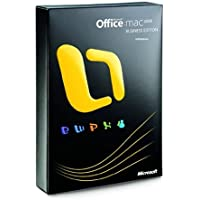 Microsoft Office 2008 Business Edition, Mac, DVD, UPG, DE