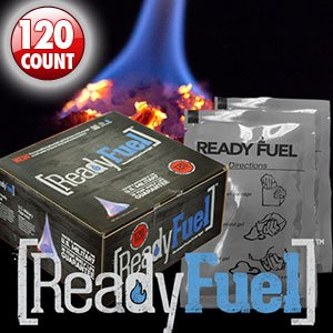 120ct Box of Readyfuel Smokeless & Odorless Fire Gel Enough to Boil 30 Gallons of Water by ready project