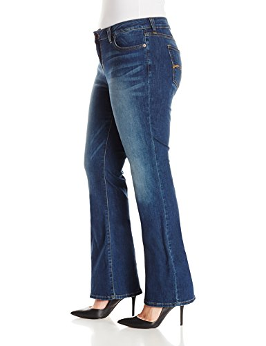 ab813f032c0 Lucky Brand Women s Plus-Size Petite Ginger Bootcut Jean In Amazonite