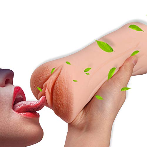 Sexymate Man Masturbation Realistic 2 Holes Silicone 3D Realistic Mouth Blow Job Stroker Oral Sex Toys for Male Realistic Discreetly Pussy and Mouth (Amazon Fulfilled Fresh)