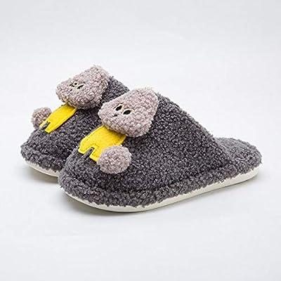 Ginsenget Termicas Zapatos Slippers,Zapatillas algodón cálido ...