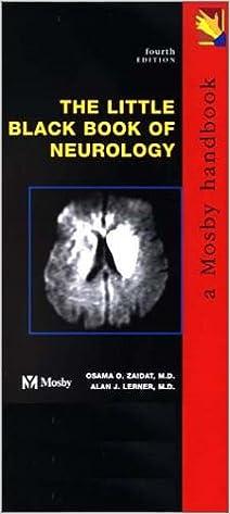 Free french textbook download The Little Black Book of Neurology, 4e auf Deutsch PDF 0323014151
