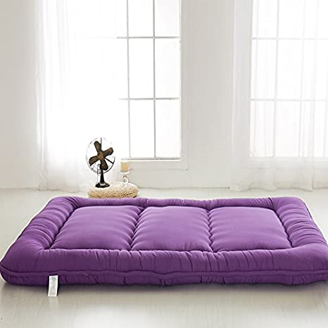 amazon    purple futon tatami mat japanese futon mattress cheap futons for sale christmas gift idea gift for women men gift for mom dad     amazon    purple futon tatami mat japanese futon mattress cheap      rh   amazon