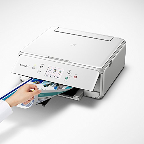 Canon PIXMA TS6120 Wireless All-in-One Compact Printer with Scanner & Copier White (2229C022) Corel Paint Shop Pro X9 Digital Download & High Speed 6-Foot USB Printer Cable by Canon (Image #5)