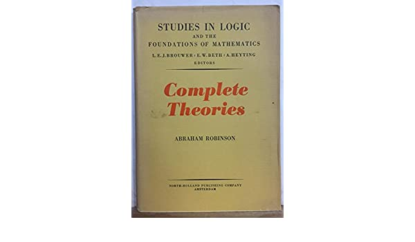 Complete theories