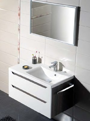 Gemeinsam Waschtisch Badezimmer Wave II 90 90 x 45 x 48 cm ...