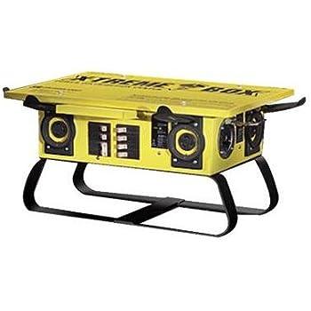 Coleman Cable X Treme Box Power Centers 50 Amp Portable