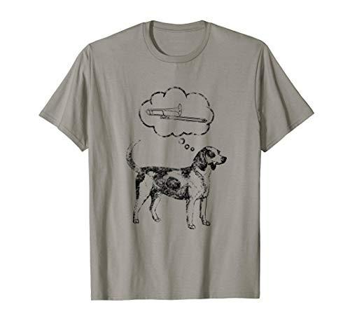 - Trombone Dog Favorite Bone Funny Trombonist Band T-Shirt