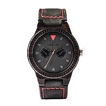 WeWOOD UK Leo Leather Watch Terra Black