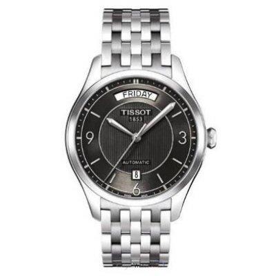 Tissot Men's T0384301105700 T-One Day-Date Calendar Watch