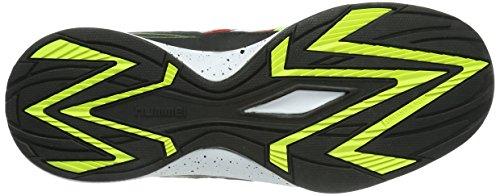 hummel CELESTIAL COURT X3 - Zapatillas deportivas para interior de material sintético unisex multicolor - Mehrfarbig (Flame Scarlet 3015)