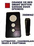 Craftsman Garage Door Opener Comp Visor Remote Control for Red Smart Button