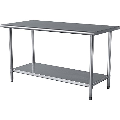 Stainless Steel Prep Work Table 14 x 36 - NSF - Heavy Duty by IYQ