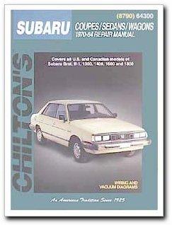 - Chilton 64300 Subaru Ff-1 Brat, 70-84, 130