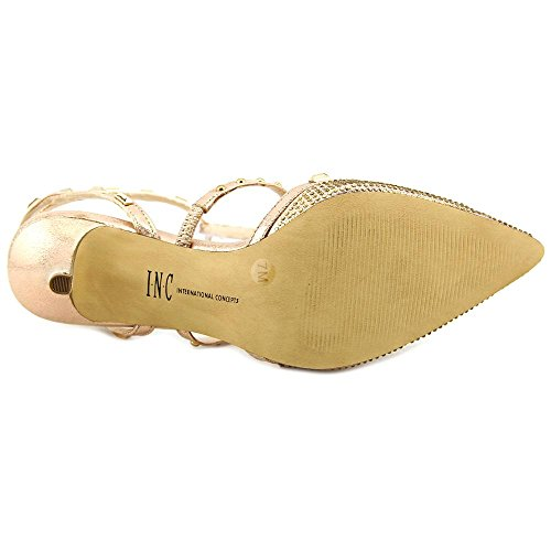 International Concepts Carma2 Toe INC Womens D Gold Orsay Ankle Rose Pumps Strap Pointed 6gaOwx