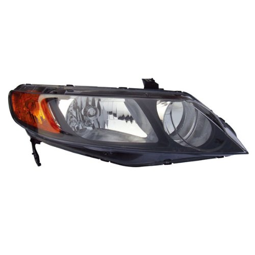 Koolzap For 06-08 Civic Sedan Headlight Headlamp Front Head Light Lamp Right Passenger Side
