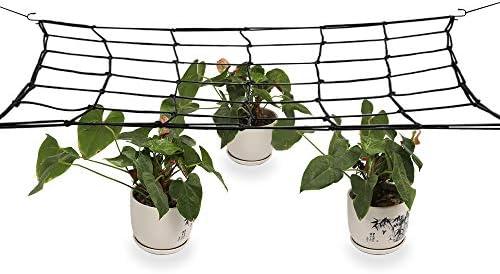 Pflanzennetz Stütznetz 80x80cm Scrog Netz Support Grow Wachstumsnetz Hydroponic