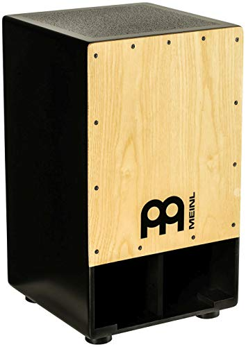 Meinl Subwoofer Bass Cajon Box Drum with Internal Snares - NOT MADE IN CHINA - American White Ash Playing Surface, 2-YEAR WARRANTY (SUBCAJ1AWA)