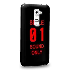Case88 Premium Designs Neon Genesis Evangelion Seele 01 1104 Carcasa/Funda dura para el LG G2