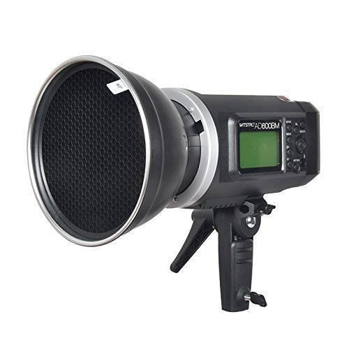 GODOX AD600BM 600Ws GN87 Sync 1 / 8000s 2.4G Wireless Flash Light Speedlite,GODOX X1T-S Flash Trigger,80 X 80 CM Softbox,Standard Reflector and Grid,Barn Door,32'' 5-in-1 Reflector,Monolights Kits by Godox (Image #6)