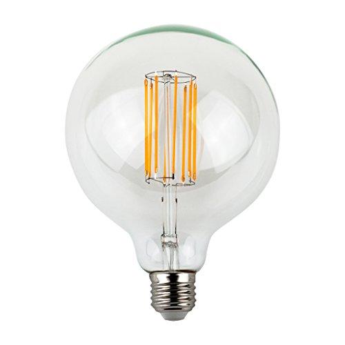 LIGHTSTORY G40 6W Vintage LED Edison Bulb 60W Equivalent, E26 Base, 2200K, Global Bulb, Non-dimmable