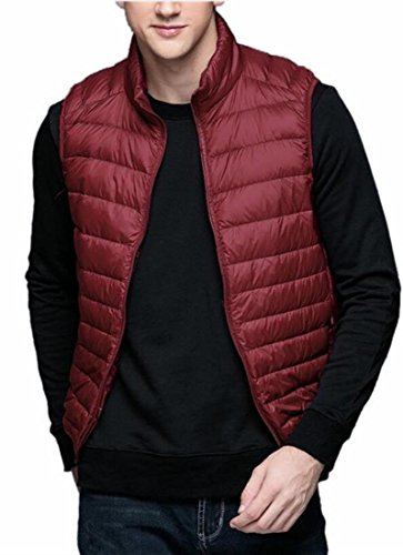 Collar Down Vest today Lightweight 4 Puffer UK Slim Stand Packable Men wq01BzwZ