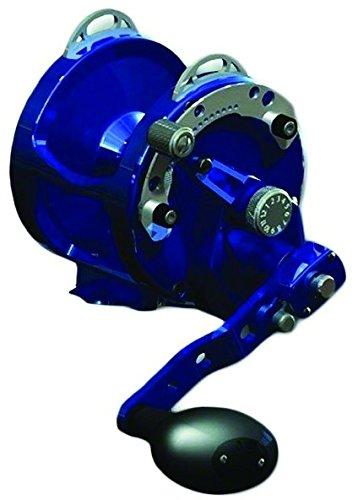 Avet Reel Trolling (AVET 2-Speed H5.4:1,L2.4:1 Lever Drag Reel, Blue)