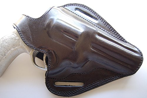 Cal38TT4 Handcrafted Leather Belt Holster for Taurus Tracker 44 Magnum 4