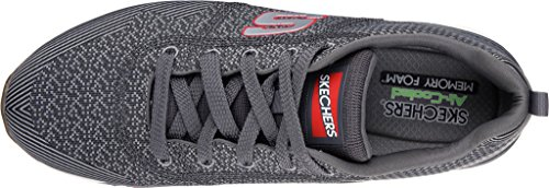 90 Chaussures Og Skechers De Homme red Charcoal cozine Running f65wzq5