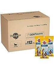 Pedigree DentaStix Daily Oral Care Zahnpflegesnack, Hundeleckerli das hilft, die Bildung von Plaque und Zahnstein zu reduzieren, 1er pack (1 x 112 Pedigree DentaStix)