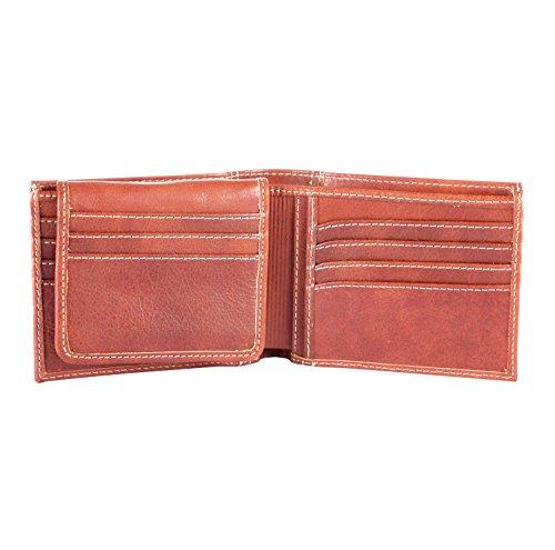 Velez Mens Genuine Columbian Leather Trifold Wallet | Billeteras de Cuero Hombre at Amazon Mens Clothing store: