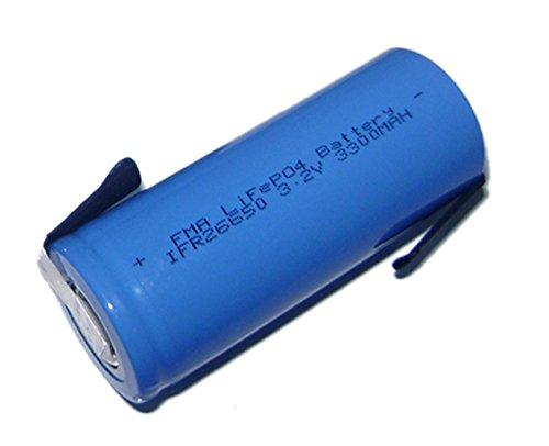 26650 3.2V 3300Mah Lifepo4 Li-Fe Rechargeable Battery For E-Bike Flashlight Us by Battery Recharger