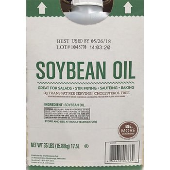 Wellsley Farms Soybean Oil, 35 lbs. (pack of 6) by Wellsley Farms