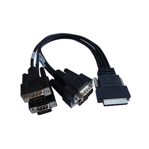 - Digi 76000528 4-port DB-9M DTE Fan-out Cable For AccelePort Xp 4-port