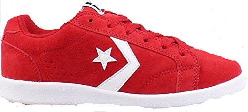 Scarpe Converse One Star All Ton Ox Rosso Red Pelle 621688 All Chuck GR: 36