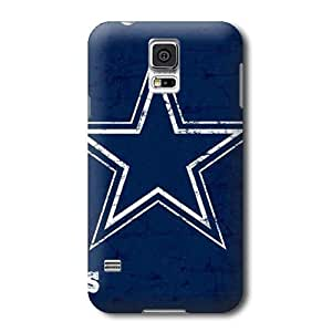 S5 Case,NFL Dallas Cowboys Pattern Samsung Galaxy S5 Covers,Durable Hard Case Covers