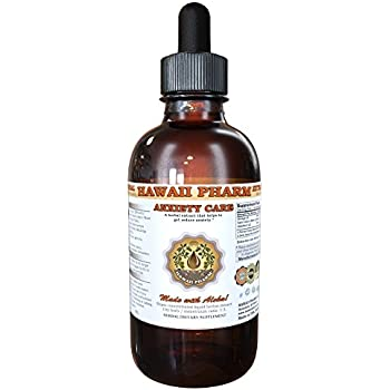 Anxiety Care Liquid Extract, Kava Kava (Piper Methysticum) Root, Valerian (Valeriana