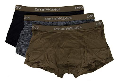 Confezione 3 Boxer Uomo Tripack Emporio Armani Articolo 111625 9p722 Underwear Men's Clothing