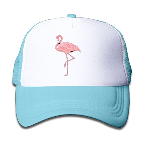 Zombie Tennis Player Costume (Baby Pink Flamingo Design Boys And Girls A Grid Baseball Cap Can Be Adjusted)
