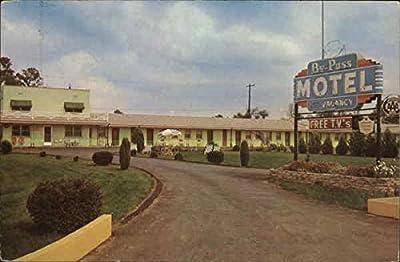 By-Pass Motel Lexington, Kentucky Original Vintage Postcard