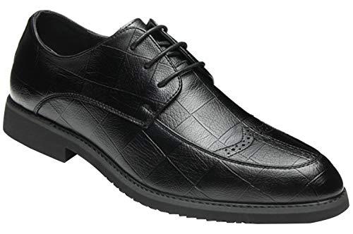 Herren Brogue Schuhe Spitze Derby Schuhe Business-Kleid Freizeitschuhe Mode 5