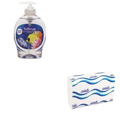 kitcpm26800wns101 – Valueキット – Softsoap水族館シリーズLiquid Hand Soap (cpm26800 ) とWindsoft 101 Bleachedホワイトエンボスc-fold Paper Towels (wns101 )   B00MOTXS7M