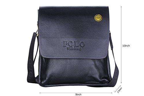 3ec1c22e9058 VIDENG POLO® Newest Men s Genuine Leather RFID Blocking Secure ...